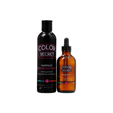 COLOR SECRET Strengthening System 2 Step Kit 375ml