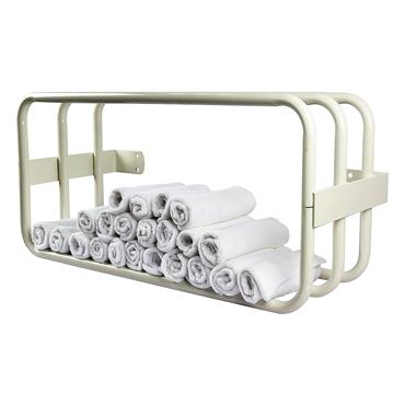 Salon Services Handtuchhalter Weiß