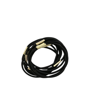 Stella Green Rubber Band Medium Black 10pcs