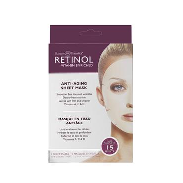 Retinol Anti-Aging Sheet Masks (5 pack)