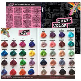 Crazy Color Color Chart A4
