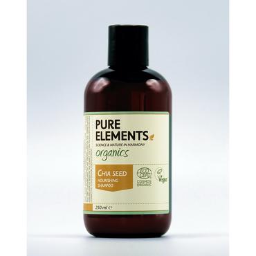Pure Elements Nährendes Chia Shampoo - BIO 250ml