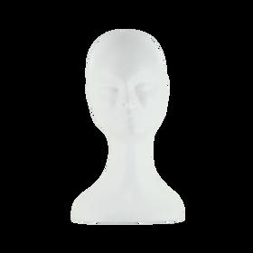 Sibel Perückenkopf Damen Standard, weiß