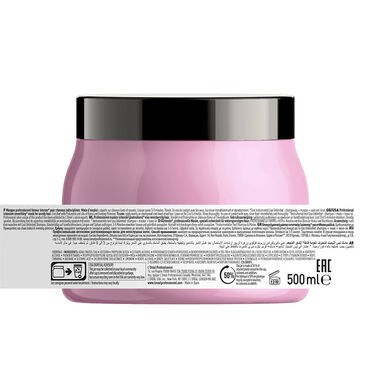 L'Oréal Professionnel Série Expert Liss Unlimited Mask for rebellious & frizzy hair 500ml