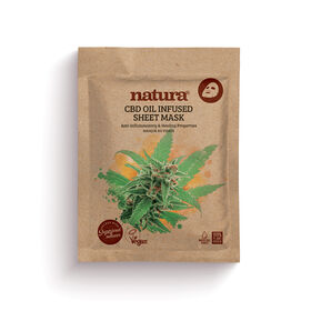 Natura Mask CBD Oil Infused Sheet 22ml