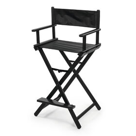 SIBEL Make-Up Chair Nathalie Foldable Black/7300753