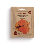 NATURA Mask Turmeric Infused Sheet 22ml