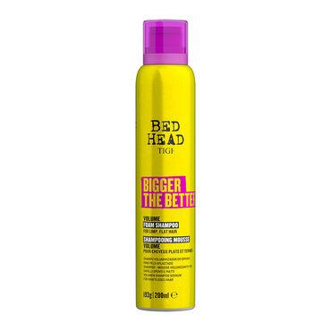 Tigi Bed Head Bigger The Better Volumen-Shampooschaum für kraftloses Haar 200ml