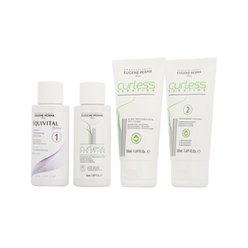 Eugene Perma Curless Keratine Kit 3x50ml+1x30ml