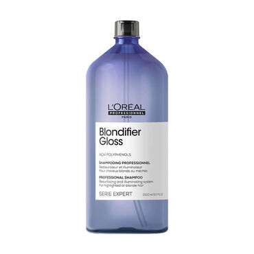 L'Oréal Professionnel Série Expert Blondifier Gloss Shampoo für blondes und blondiertes Haar 1500ml