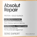 L'Oréal Professionnel Série Expert Absolut Repair Conditioner With Protein and Gold Quinoa for dry and damaged hair 750ml
