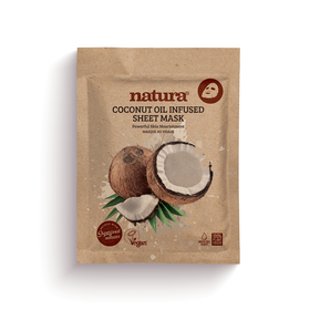 NATURA Mask Coconut Oil Infused Sheet 22ml